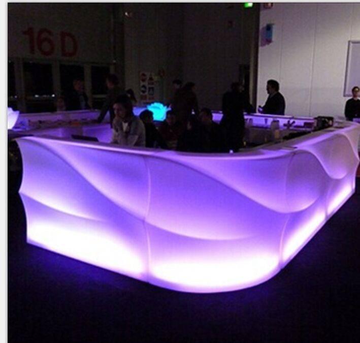 LED morden bar counter