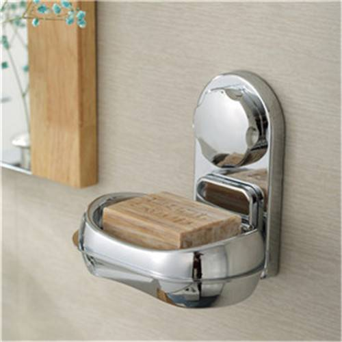 Powerful Vacuum Suction Cup Soap Dish Rack Bathroom Holder