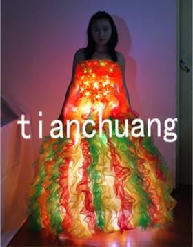 LED Pumpkin Costumes LED Dress