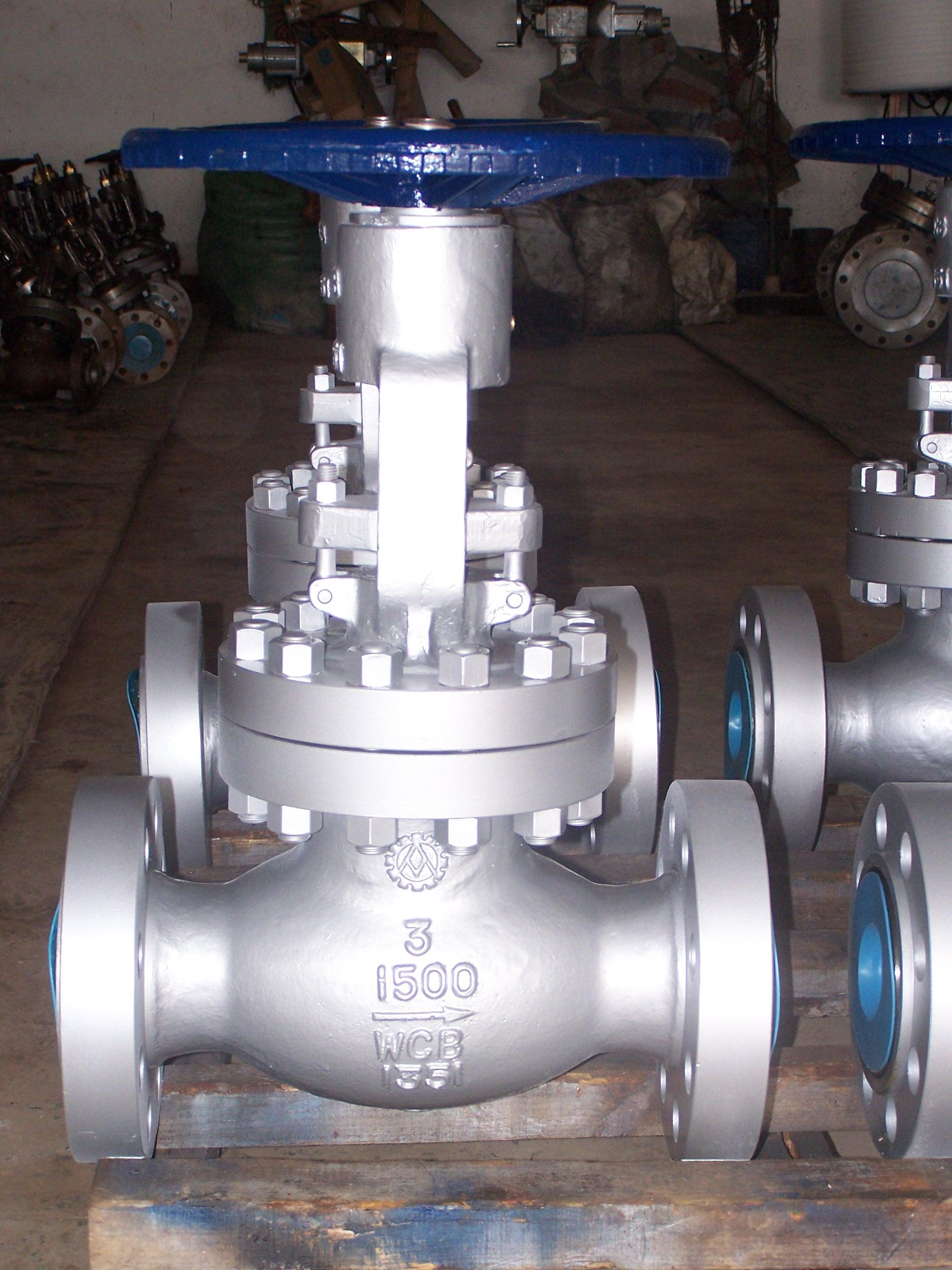 Flanged High Pressure Cast Steel Globe Valve