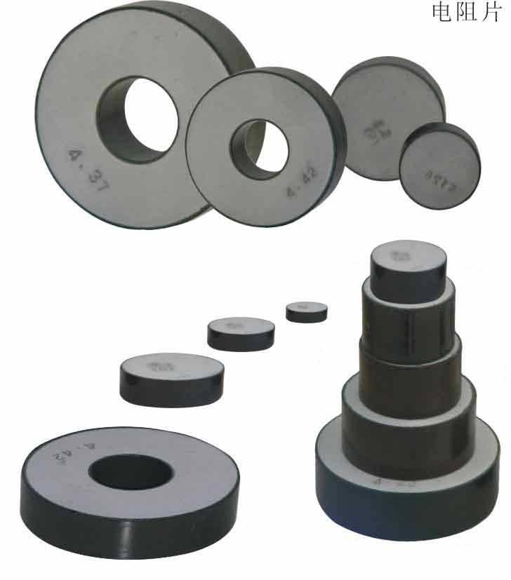 metal oxide varistor , Zinc oxde varistor. arrester core ,surge arrester, lighting arrester,MOV bloc