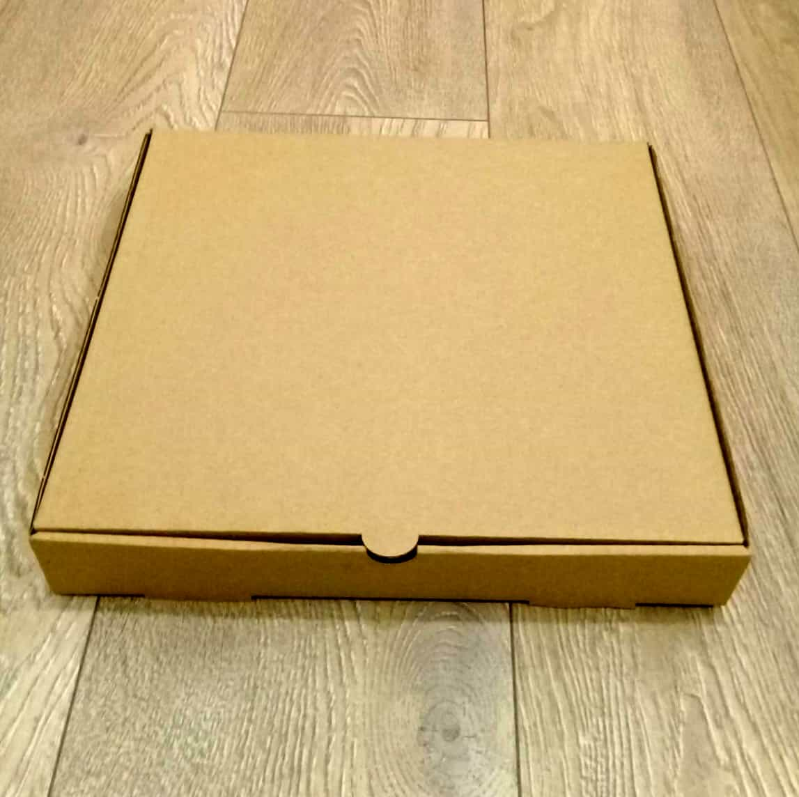 Plain Pizza Box