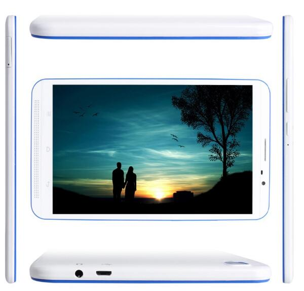 8 inch IPS screen android sim tablet PC with MTK6582 chipset