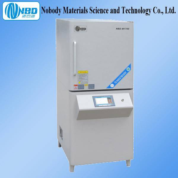 1700C Large Muffle Furnace Touch Screen Temperature Controller
