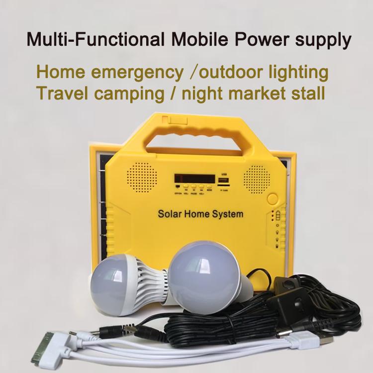 Solar charging radio led lighting