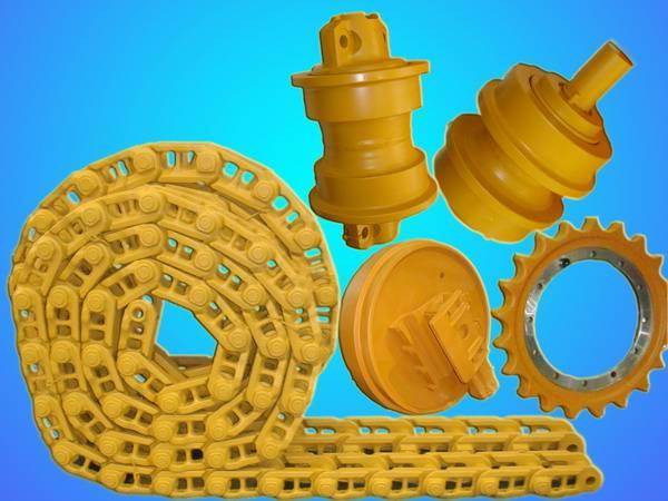 excavator bottom rollers SK230 PC200-5 PC400-3 PC450-6