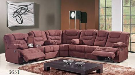 China manufacturer for fabric recliner sofa