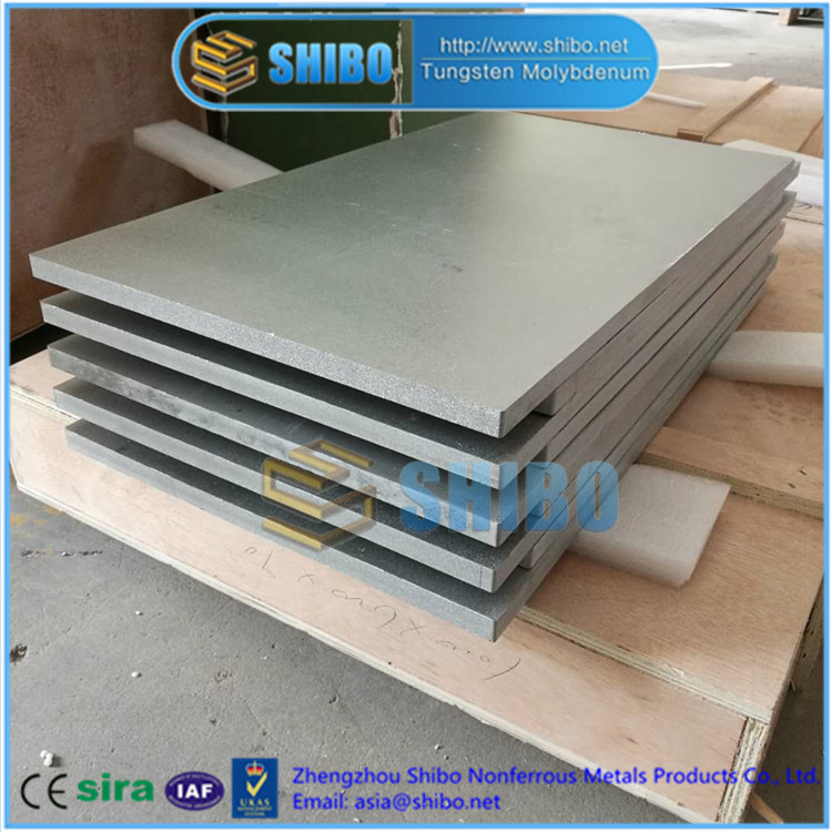 Factory Supply High Purity 99.95% Molybdenum plate with best price