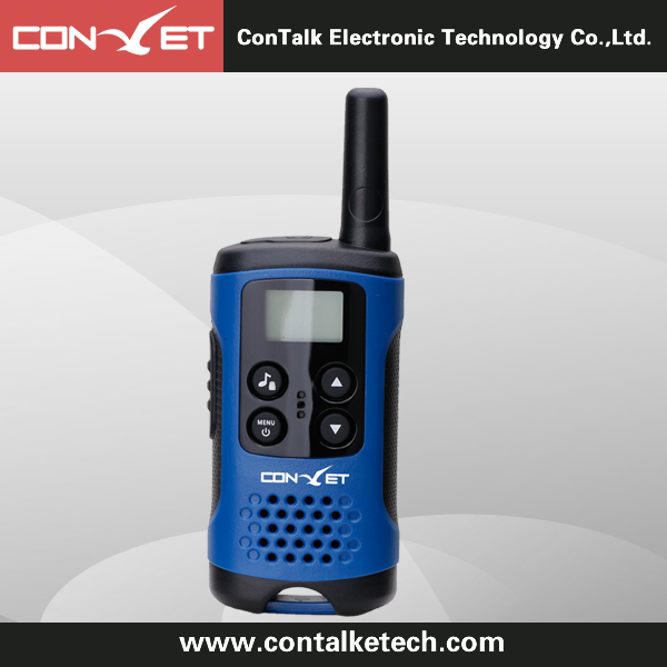Contalketech Ctet-Q40 - Gmrs/PMR/Frs 2 Way Radio Transceiver 2 Miles (Up to 3 Miles) Range Blue