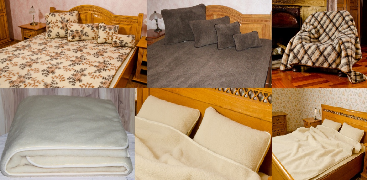 Wool bedroom products