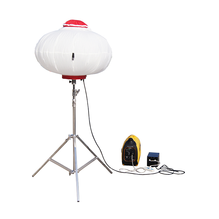 250w led tripod balloon light tower