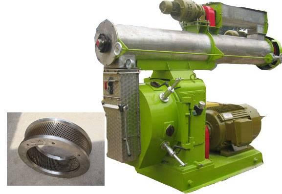 Ring die wood pellet mills