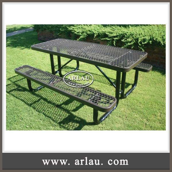 Arlau urban furniture, thermoplastic finish table benches,picnic table and chairs