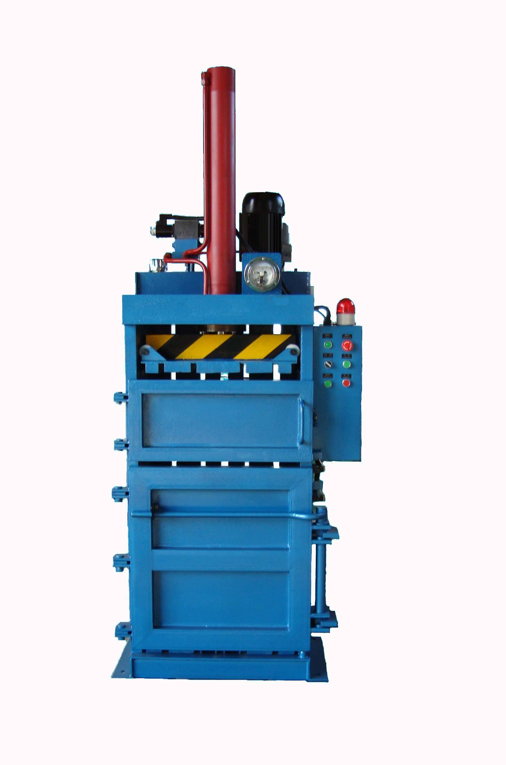vertical baler for carboard ,cotton yarn,plastic,used cloth