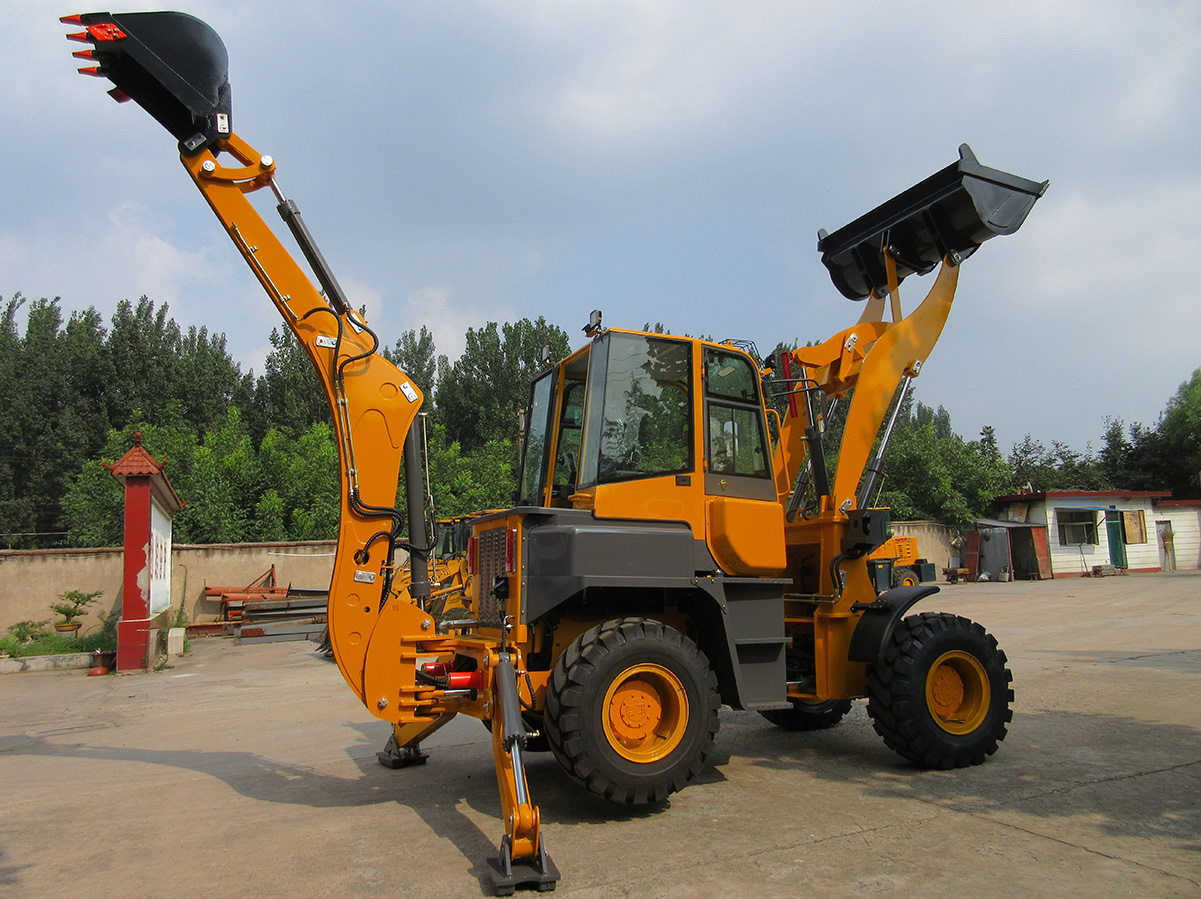 Articulated backhoe loader WZ30-25 loader backhoe