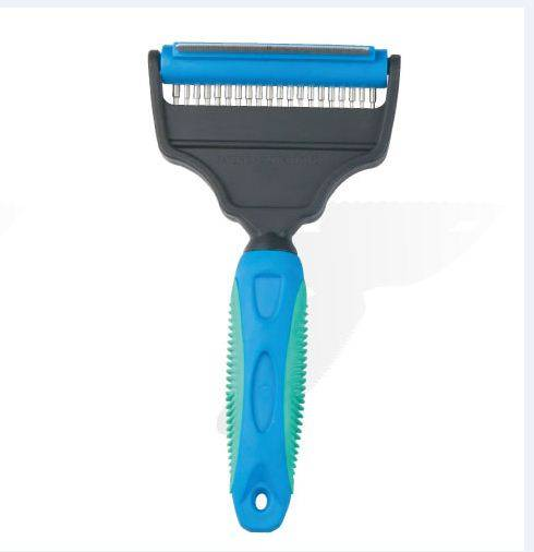 Flea comb wholesale pet handle tools for dryer with comb