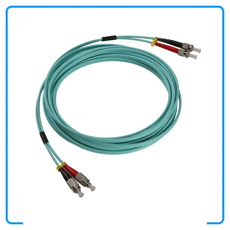 Singlemode Duplex FC/LC Optic Fiber Patch Leads Fiber Optic Patch Cords