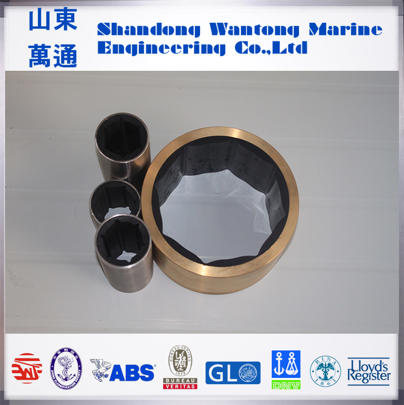 Marine cutless rubber bearing stern tube bushing for vessels