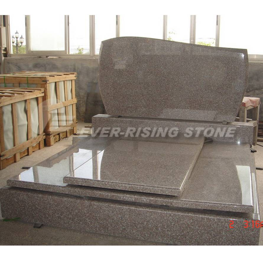 China Pink Granite Tombsotnes Monument (EME-313)