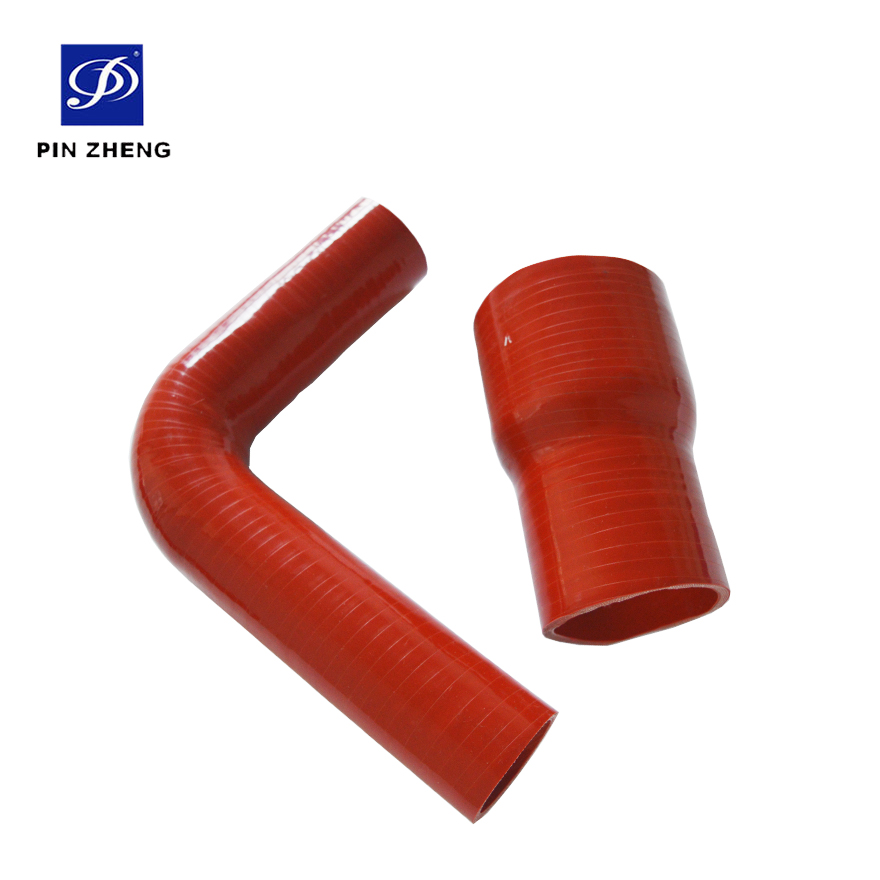high performance heat resistant low pressure orange silicone rubber water hoses