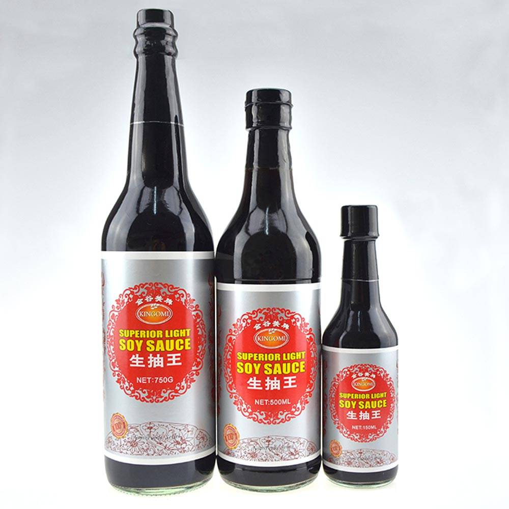 Naturally Fermented Soy Sauce