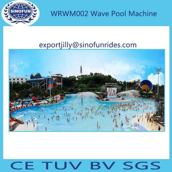 Wave machine pool wave pool