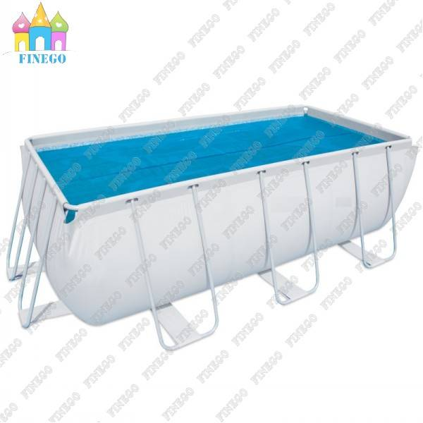 Exciting Eeasily Set-up Rectangle Frame Pool