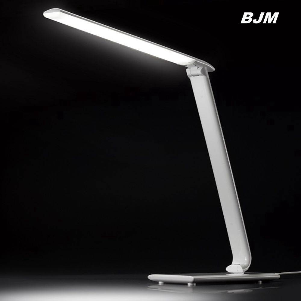10w foldable touch led desk lamp with usb port