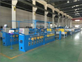 FUCHUAN ® FC-TX24 Ultra-fine wire high speed annealing machine with high performance