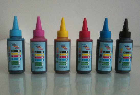 refill ink, ciss ink compatible for epson/canon/brother/hp 100ml/bottle