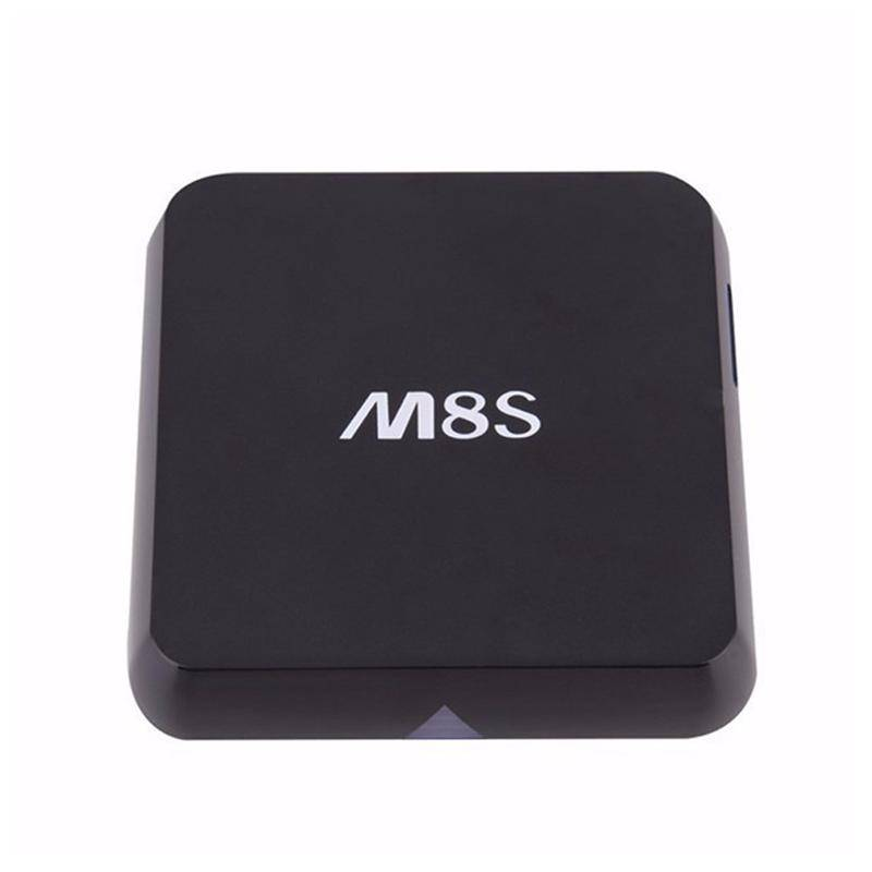 Android TV Box M8S Amlogic S812 Chipset 4K 2G/8G XBMC Dual band 2.4G/5G wifi Full HD Android 4.4 Sma