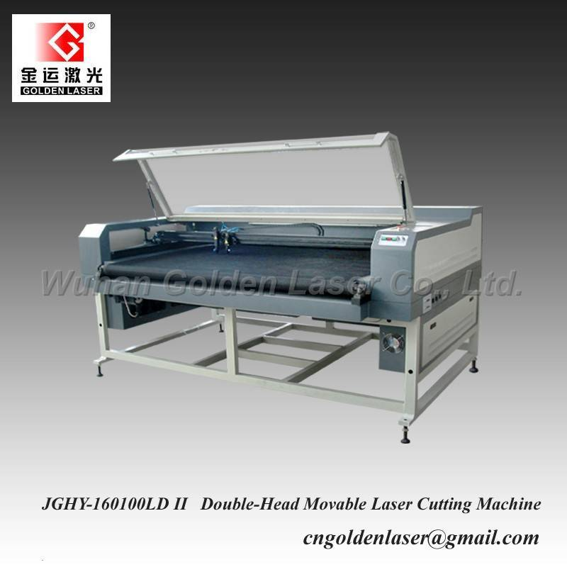 Double Head Laser Cutter for Shoes