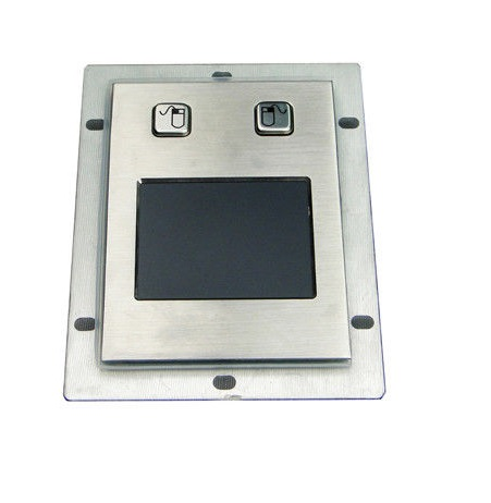 panel mounting stainless steel USB touchpad with mouse buttons