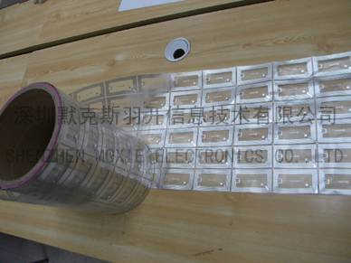 Offer RFID HF Dry/Wet Inlay or Paper Adhesive Label With large quantity and cheap price