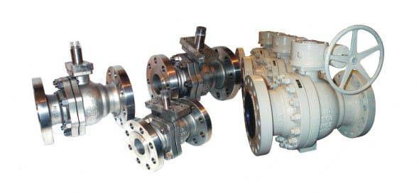 Metal-Seated Ball Valve