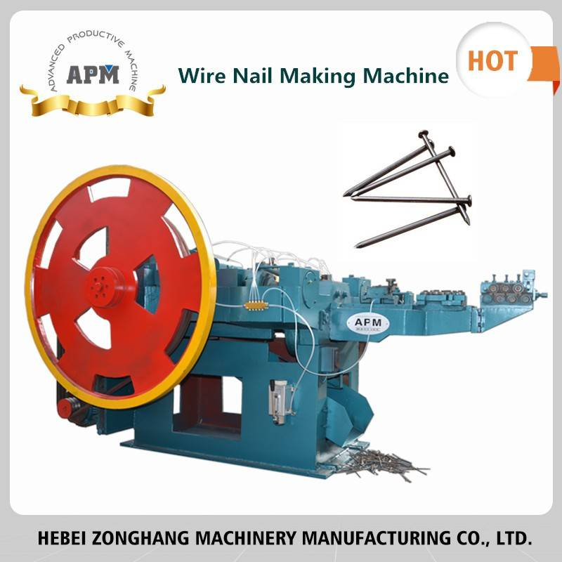 Iron Nail Making Machine