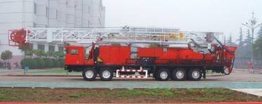 ZJ15 Truck-Mounted Drilling Rig