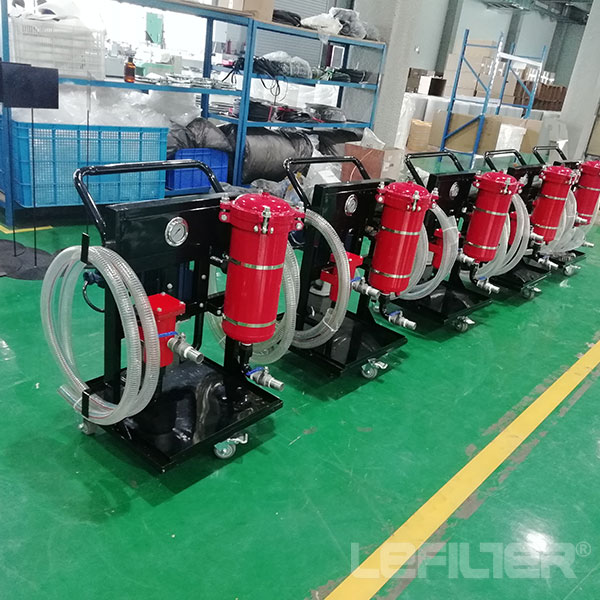 LYC Movable Lubricant /Turbine/Transformer Oil Pufier Filter Units Machine