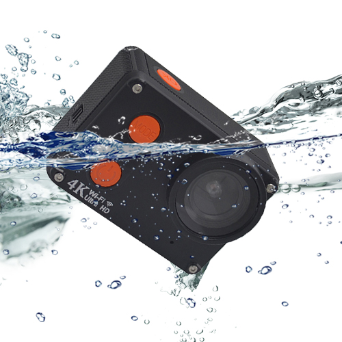 waterproof without housing 2inch touch screen 4K wifi sport camera