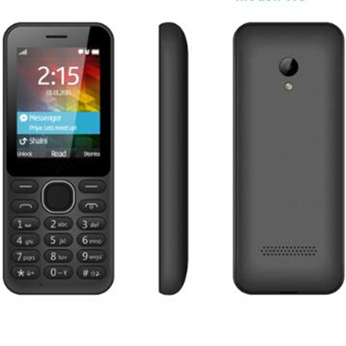 Supply 2.4 inch 3g feature mobile phone with big memory