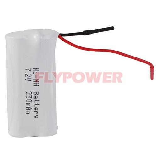 7.2V 230mAh Ni-MH Rechargeable Battery Pack (6S of FH-1/3AAA230)