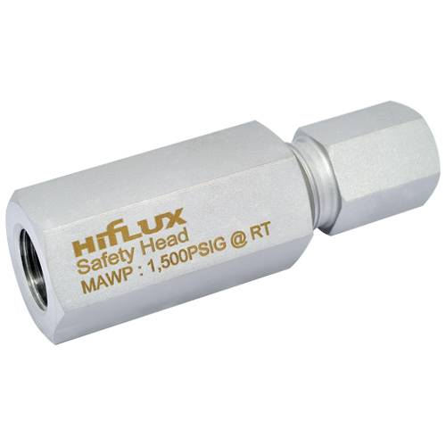 HIFLUX - High Pressure Safety head & Rupture disc