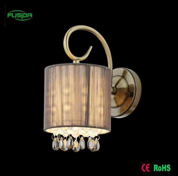 European style cloth reading wall lamp /bedside wall light