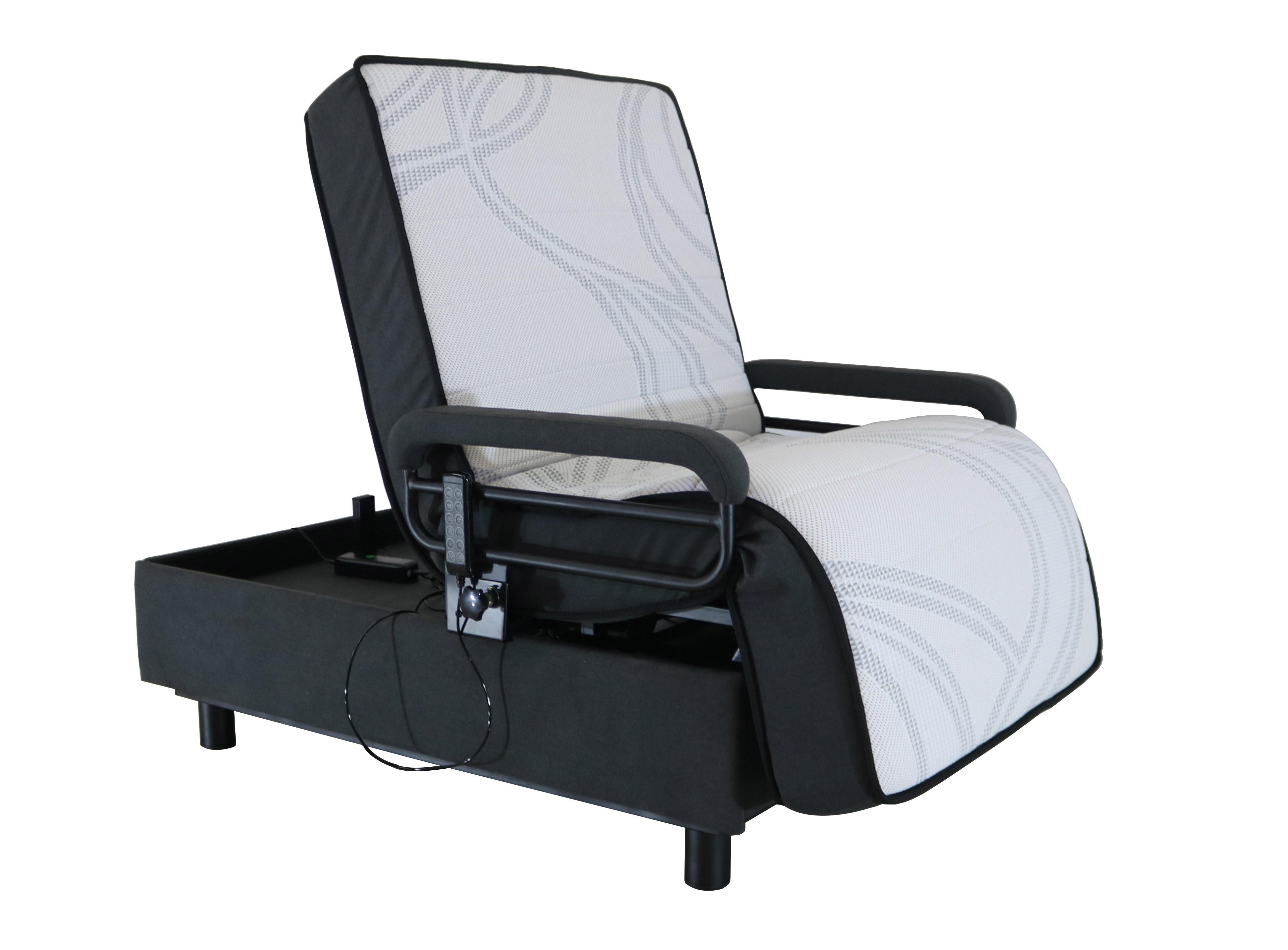 Healthcare FLS021 EZ OUT Adjustable Beds, Electric Bed Frame