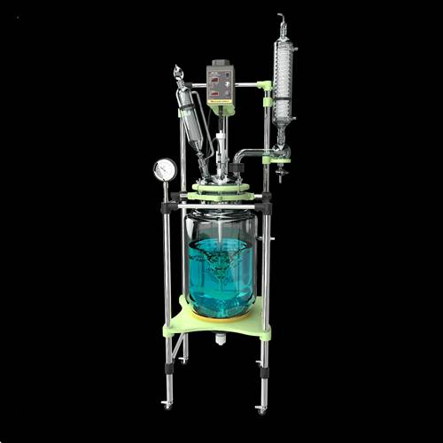 50L two-layer borosilicate glass jacketed reactor GR-50L