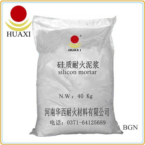 High Silicon Refractory Mortar