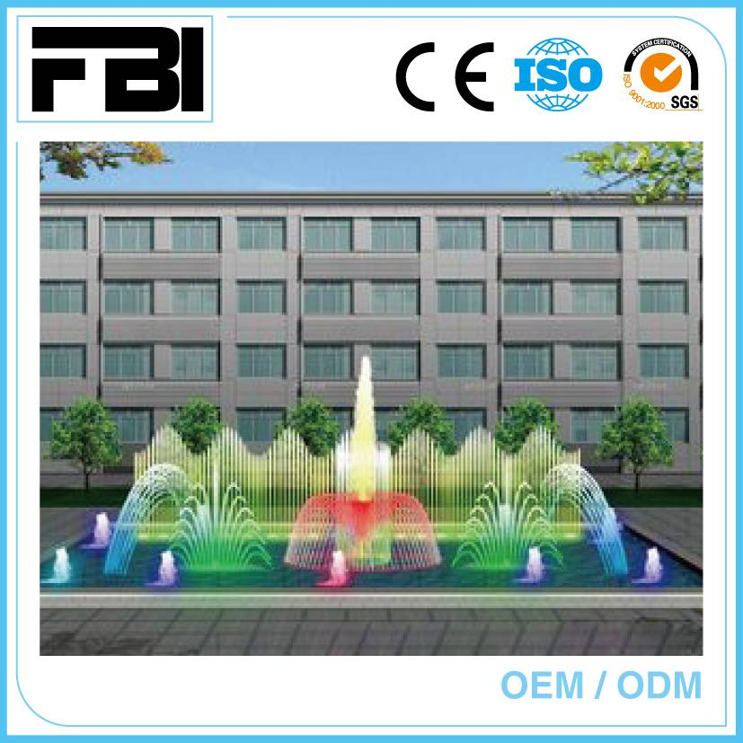 15m seagull swing fountain, dancing with music and underwater led ights