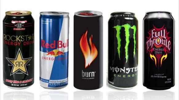 Energy Drinks(Red Bull, Monster)