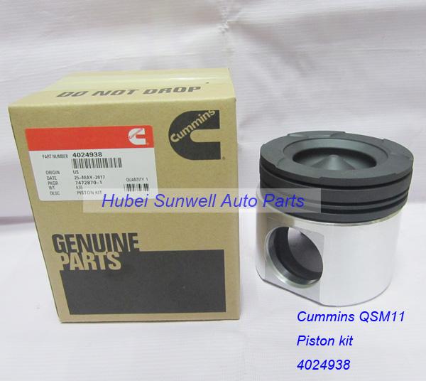Cummins M11 / QSM11 engine piston kit 4059900, 4059949, 3103752