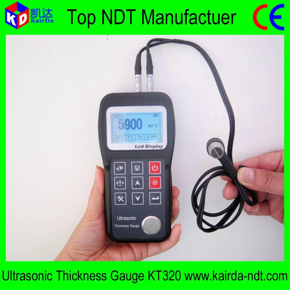China Manufactuer Ultrasonic Thickness Gauge